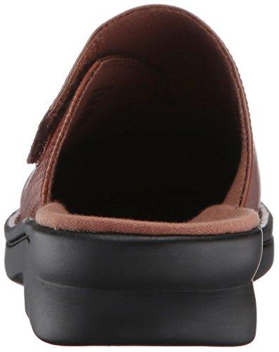 Mules pour Femme Leather Dark Clarks Tan UwFqU5