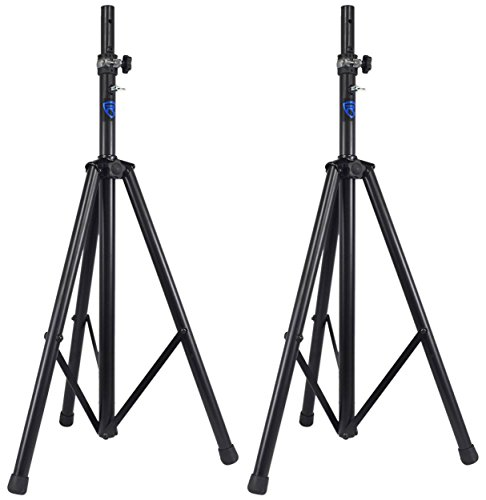 2 Rockville DJ PA Tripod Speaker Stands Hydraulic Air Powered Auto Lift RVSS4A by Rockville