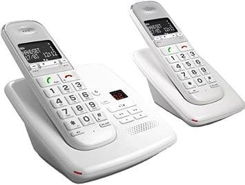 Telefunken TD 352 – Teléfono inalámbrico con contestador automático (DECT) by Telefunken: Amazon.es: Electrónica