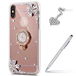 Case for iPhone Xs Max Diamond Case,Crys...
