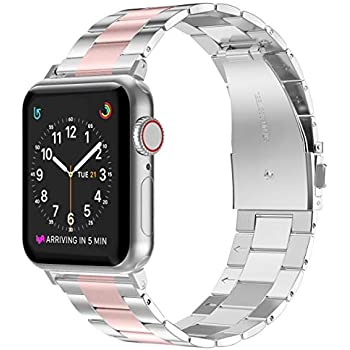 Amazon.com: GaoBao Compatible for Apple Watch Band 42mm
