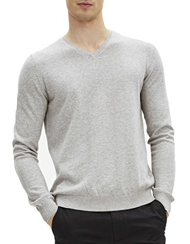 Gris heather Homme Grey Pull Georges Celio qgt74