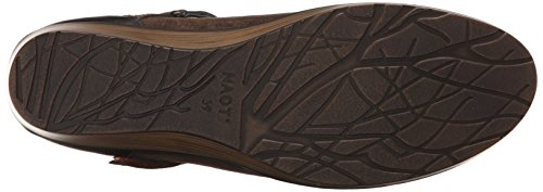 Grecian Shimmer Suede Volcanic Brown Women's Flat Sincere Naot Gold Bronze Leather Rx8qg1wH