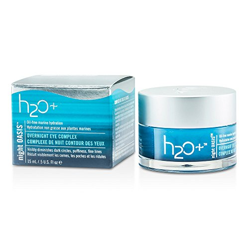 H2O+ by H2O PLUS Night Oasis Overnight Eye Complex --15ml/0.5oz ( Package Of 2 ) Night Oasis Overnight Eye