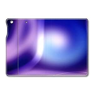 Brain114 iPad Mini Leather Case - Slim Flip Case Cover for iPad Mini Aero Colorful Purple 19 - Auto Wake Up/Sleep Function New