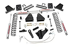 4. Rough Country - 478.20 - 4.5-inch Suspension Lift Kit w/ Premium N2.0 Shocks for Ford: 08-10 F250 Super Duty 4WD, 08-10 F350 Super Duty 4WD