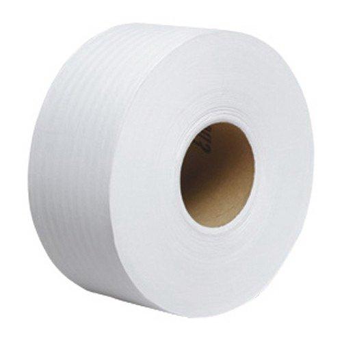 Kimberly-Clark 2129 Tradition JRT Jr. Jumbo Bath Tissue, White, 1000' Per Roll, Plastic, 1