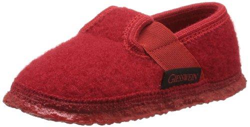 Giesswein Türnberg 32/10/40164-312 - Zapatillas de casa para niña Rojo(Rot)