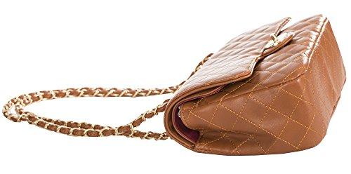 Bag 2 Clutch Tan Big Small Wedding Twist Clasp Shoulder Party Lock Handbag Shop Round Womens Purse Design Quilted wqgFPx
