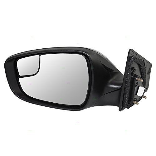 Drivers Power Side View Mirror Heated with Blind Spot Glass Replacement for Hyundai Korea 87610-3X680 AutoAndArt