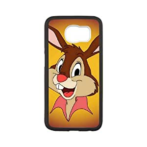 Samsung Galaxy S6 Cell Phone Case White Disney Song of the South Character Br'er Rabbit fwhm