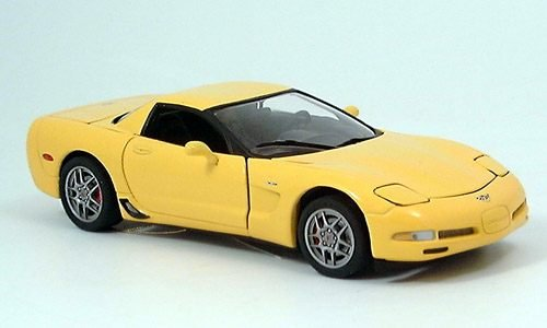 Chevrolet Corvette, Z06, HardTop, 2003, Model Car, Ready-made, Franklin Mint 1:24