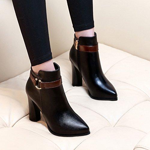 Tacchi Le Stivaletti Martin KHSKX Vintage Gli Scarpe Vento Signore Stivali Nuove black E Gli Stivali Inverno Inglese CnPxTAq1