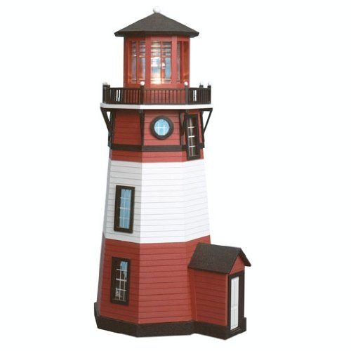 Dollhouse Miniature 1/24 Scale New England Lighthouse by Real Good Toys