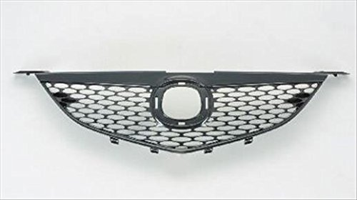OE Replacement Mazda Mazda3 Grille Assembly (Partslink Number MA1200172) Unknown