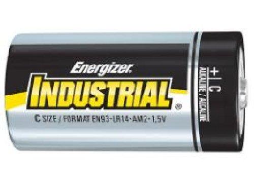 72 x C Energizer Industrial Alkaline Batteries (EN93) by Energizer