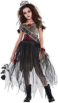 Amscan - Reina zombie, disfraz de halloween para niñas - 8-10 ...