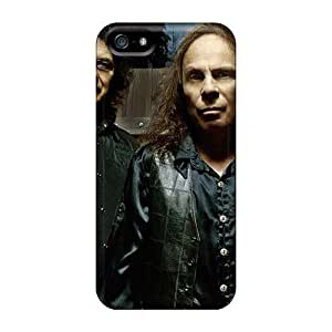 Iphone 5/5s CDW1958xshV Customized Nice Aerosmith Band Pattern Shock-Absorbing Hard Phone Cases -AaronBlanchette