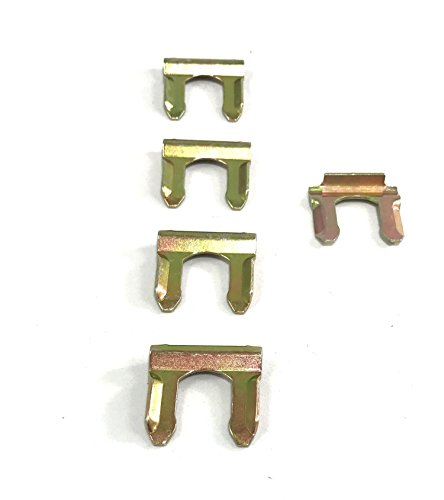 Brake Line Bracket - Gold Cadmium Flex Hose Retaining Clip