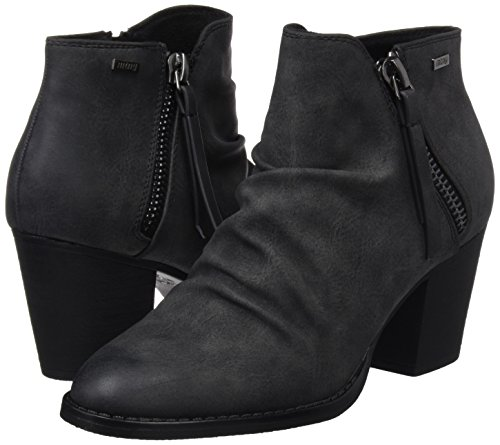 suede West Mtng Negro Negro Para Mujer Botas OnXq7P