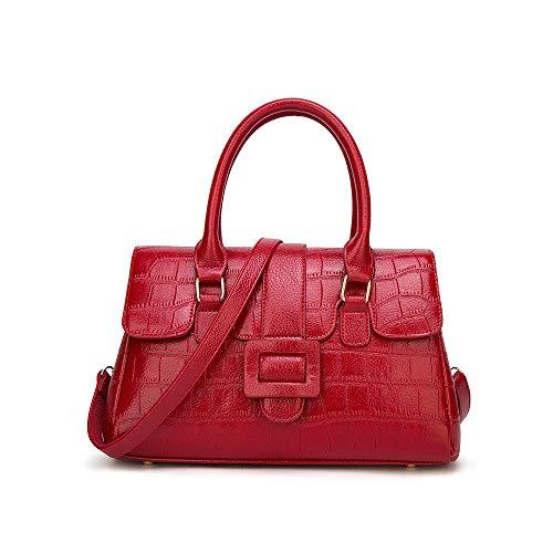 borsa tracolla per zaino messenger casual donna Audburn donna chiaro borsa a viaggio rosso moda 5w86qggXan
