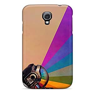 Scratch Resistant Hard Cell-phone Case For Samsung Galaxy S4 With Allow Personal Design High Resolution Daft Punk Skin KennethKaczmarek