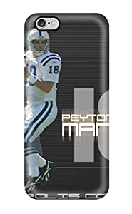 Premium Case With Scratch-resistant/ Peyton Manning Case Cover For Iphone 6 Plus