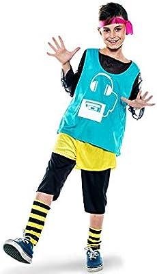 Disfraz de Aerobic ochentero verde para niño: Amazon.es: Juguetes ...