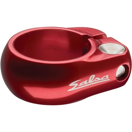 Salsa Lip Lock Seat Clamp Red, (Lock Seat Clamp)