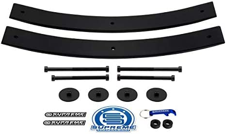 Supreme Suspensions - Rear Leveling Kit for Dodge Ram 1500 2 Rear Add A Leaf Suspension Lift Kit 4x2 4x4 (21.5 Short AAL)