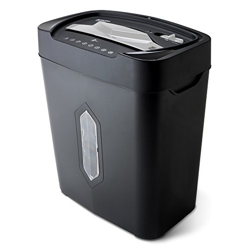 Aurora Au1230xa Anti Jam 12 Sheet Crosscut Paper And Credit Card Shredder With 5 2 Gallon Wastebasket