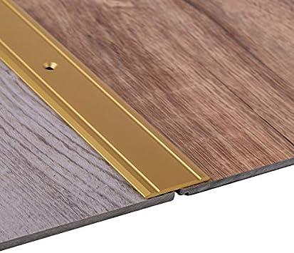 Alu Silber eloxiert SUPERFLACH Ausgleichsprofil f/ür Vinyl Laminat UVM. 1 St/ück Breite 30 mm Gedotec /Übergangsprofil Aluminium /Übergangsschiene gelocht Bodenprofil zum Schrauben 200 cm