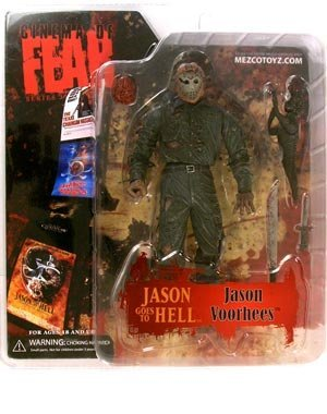Mezco Toyz Cinema of Fear Series 3 Action Figure Jason (Friday The 13th Jason Goes to Hell)