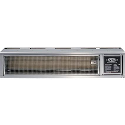 DCS DRH 48N Built In Patio Heater, Natural Gas, Brushed Stainless Steel