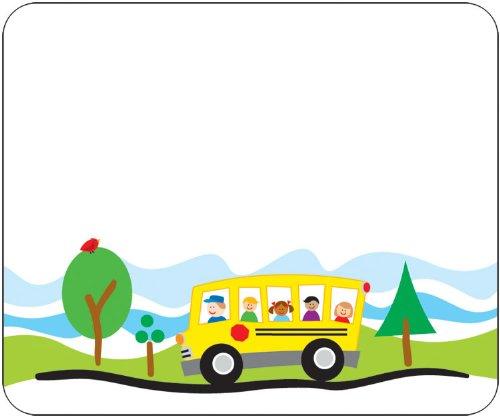 Carson Dellosa School Bus Name Tags (150008)