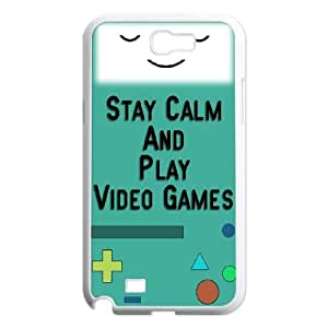 YNACASE(TM) Adventure Time Cartoon Top Quality Phone Case for Samsung Galaxy Note 2 N7100,Customized Case with Adventure Time Cartoon