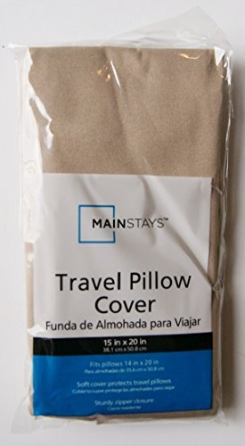 Travel Pillow Cover Brownstone - 15