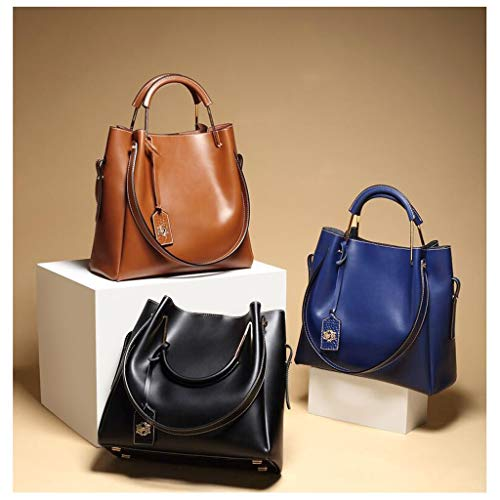 Blue Female Shoulder Mother Black Bag Capacity Version color Personality Fashion New Package Of The Korean Large PIpqZ6XP