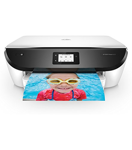 HP Envy Photo 6255 All-in-One Printer with WiFi and Mobile Printing in White (Certified Refurbished) by HP