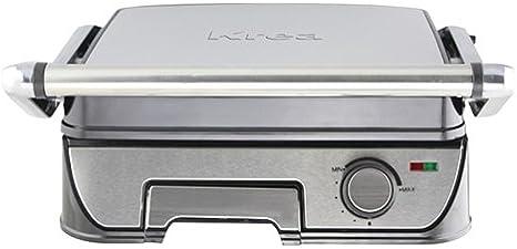 KREA GR60 - Barbacoa (2200 W, Barbacoa de contacto, Eléctrico ...