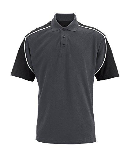 Alexandra Wolfram stc-tn006gy-xl Herren Polo Shirt, Uni, 100% Baumwolle, Größe: Large, Grau