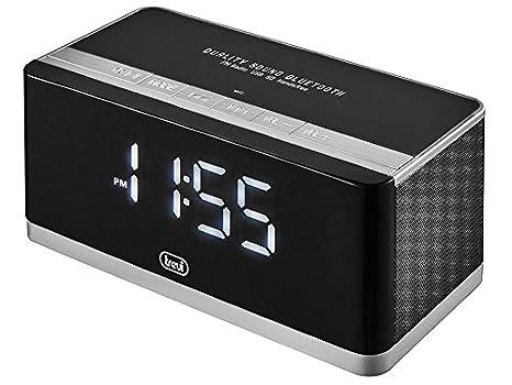Trevi HY 870 BT Reloj Digital Negro - Radio (Reloj, Digital, FM,