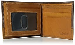 Timberland Men\'s Hunter Colorblocked Passcase, Brown/Tan, One Size