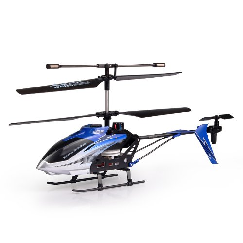 Syma S32 Lightning 3 Channel 2.4Ghz RC Helicopter with Gyro (Color Vary)