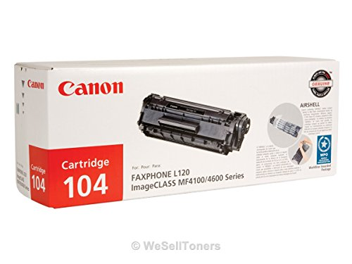 Discount 104 Toner, 2000 Page-Yield, Black by Canon hot sale