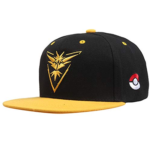 - YATB Pokemon Ash Ketchum Cap for Boys Embroidered Trainer Hat - Adjustable Premium Level Hats