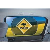 Sonnenschutz für's Autofenster - VAN - 1 Paar = 2 Stück, 67x43cm im Roadsign Design