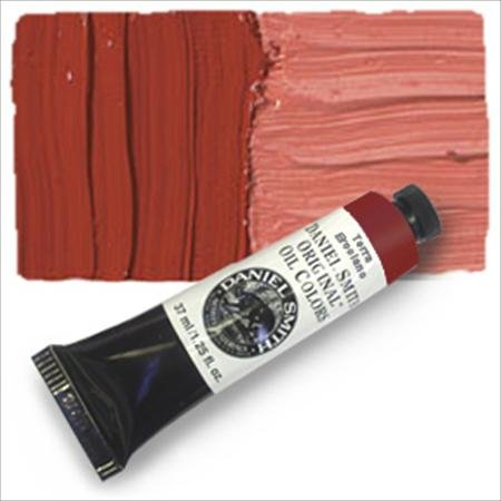 Ercolano Art - Daniel Smith Original Oil Color 37ml Paint Tube, Terre Ercolano