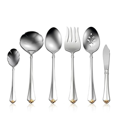 Oneida Golden Juilliard 6 Piece Serving SetÉ