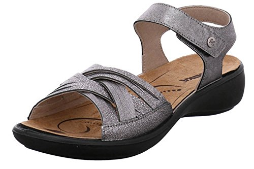 Romika Women's Fashion Sandals Grey antharzit FZqjM6